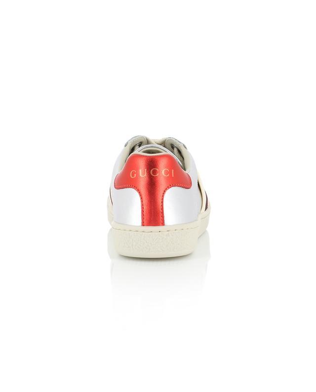 Ace Gucci Stripe leather sneakers GUCCI