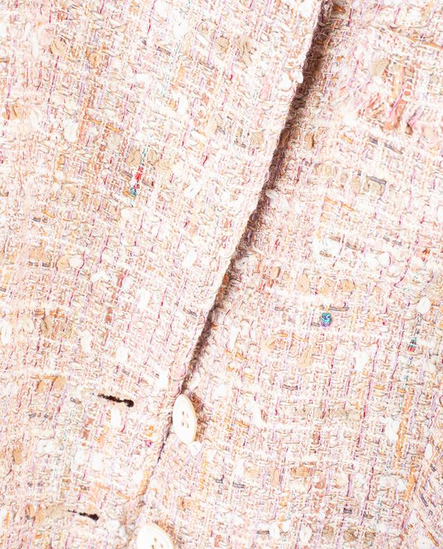 Bine sparkling tweed coat URSULA ONORATI