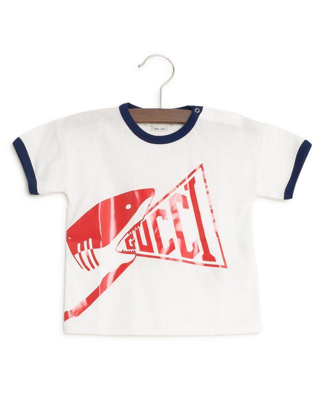 Shark print T-shirt GUCCI