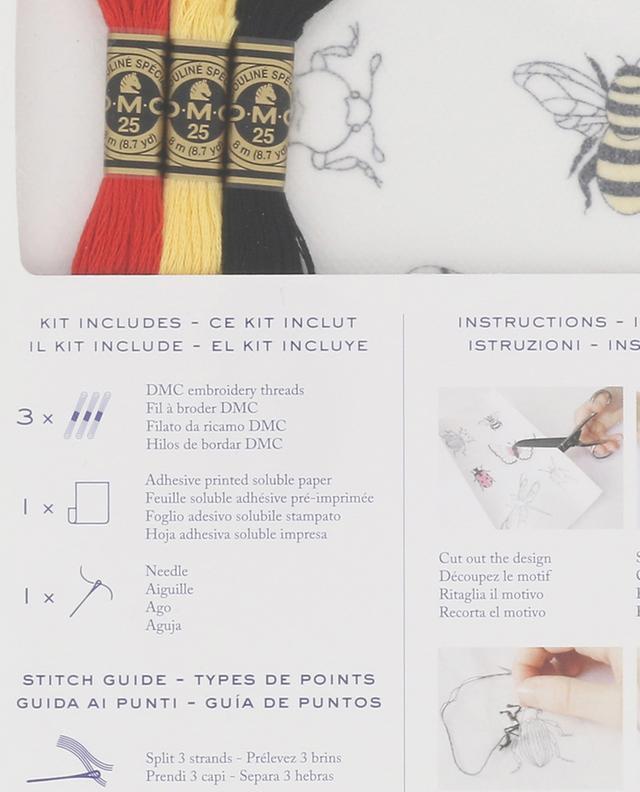 Kit de broderie Magic Paper Insectes DMC