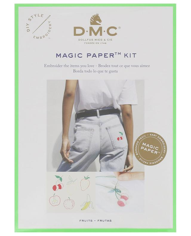 Magic Paper Fruits embroidery kit DMC