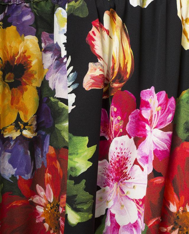 Flowers Mix pyjama spirit floral wide-leg trousers DOLCE & GABBANA