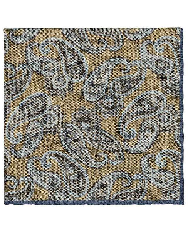 Pochette en soie avec imprimé Paisley Easy ROSI COLLECTION