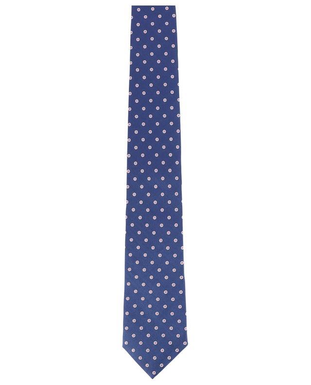 Cravate à pois en soie Martin ROSI COLLECTION