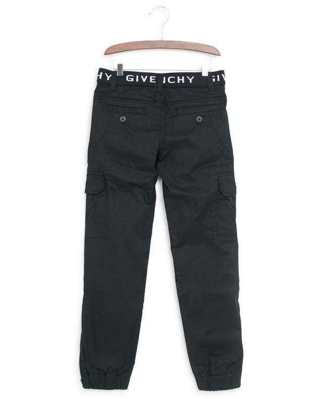 Logo waist cargo trousers GIVENCHY