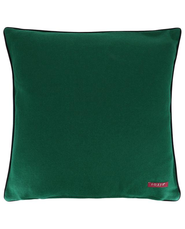 Écussons wool cushion IOSIS