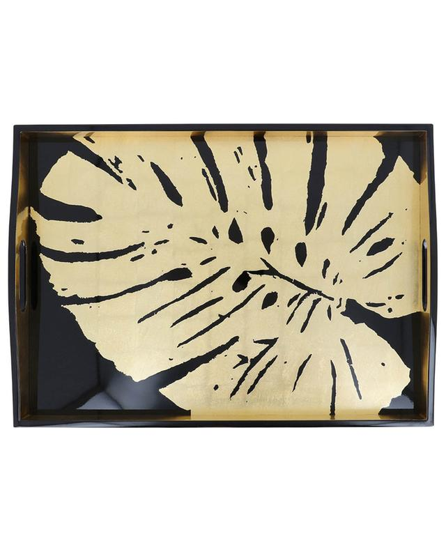 Palm Leaves large rectangular tray CASPARI