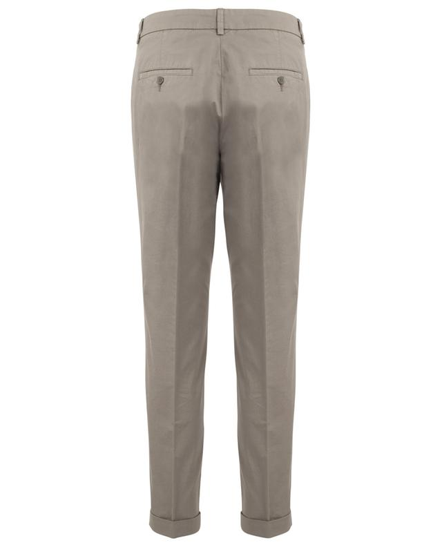 Stella cropped chino trousers with studs CAMBIO