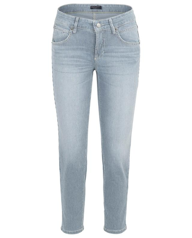 Pina striped cropped slim fit jeans CAMBIO