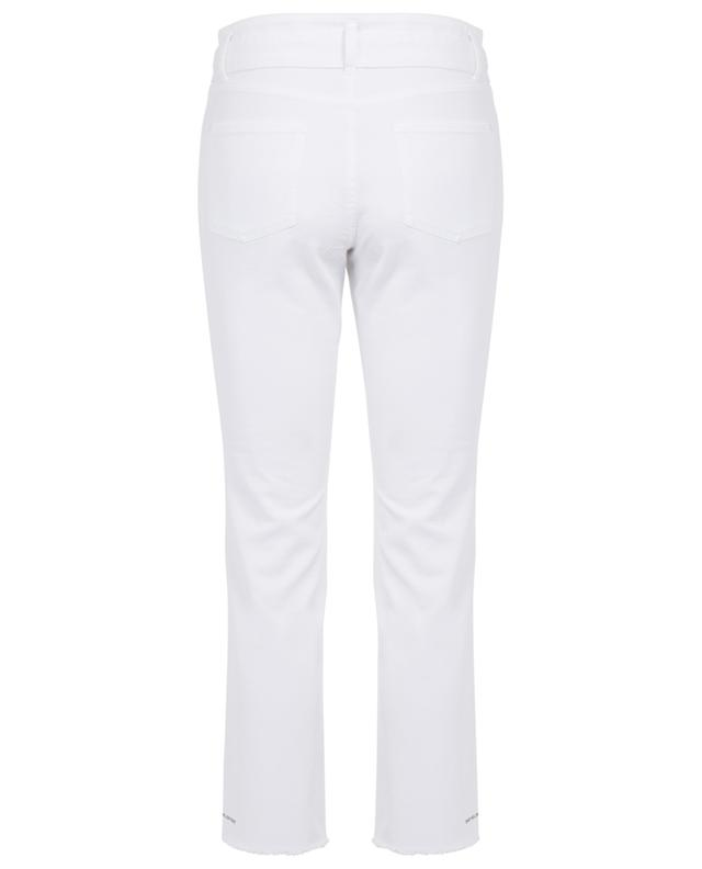 Scout cropped straig slogan jeans CAMBIO