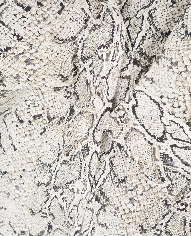 Chemisier en soie imprimé reptile EQUIPMENT