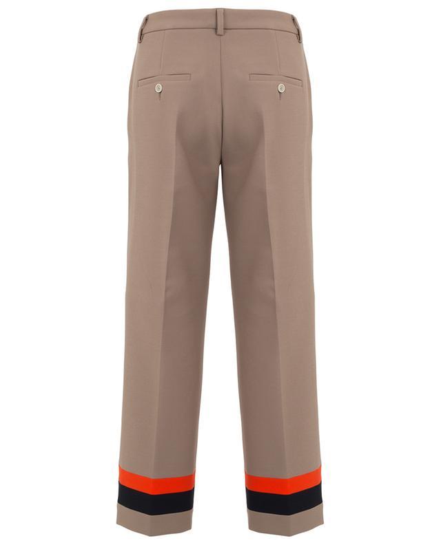 Pantalon droit fluide détail rayures Luca SEDUCTIVE