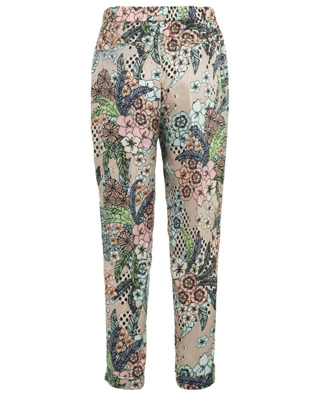 Kelly floral printed floaty trousers SEDUCTIVE