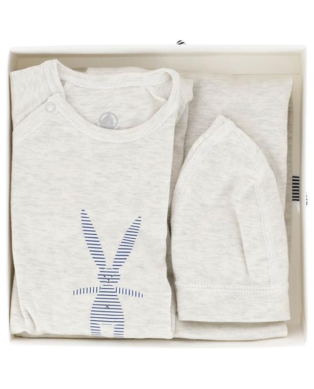 Three-piece gift set bunny PETIT BATEAU