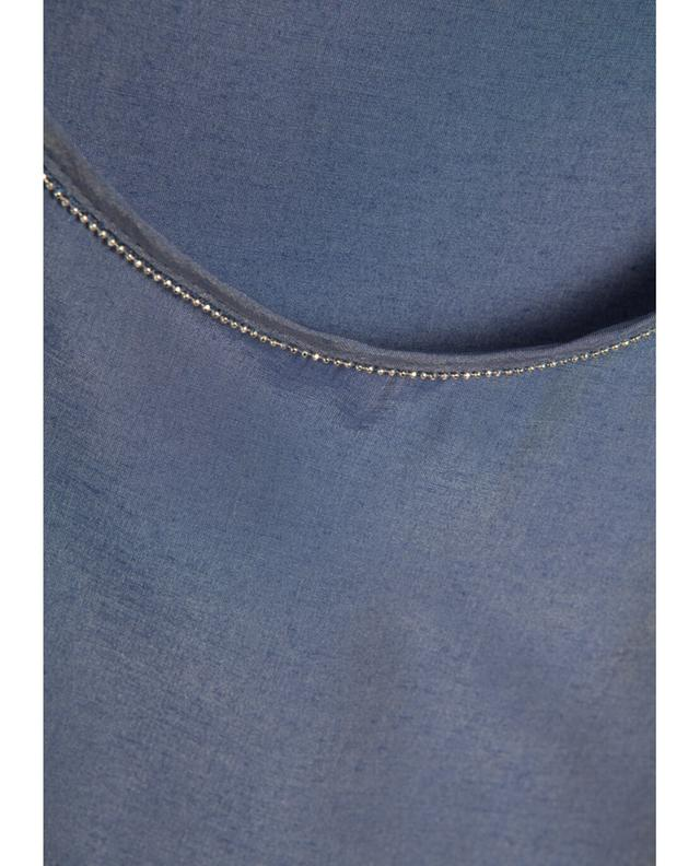 Camicettasnob top à manches longues marine A12748-BLEUF