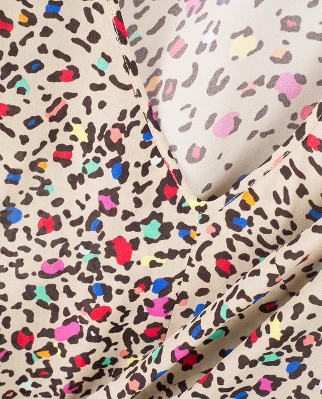 Leopard print sleeveless top CAMICETTASNOB