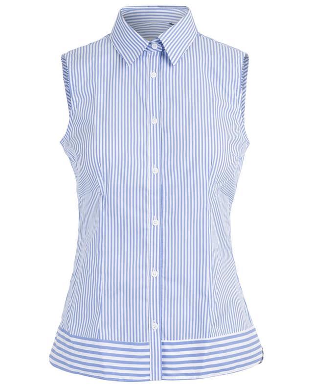 Sleeveless striped shirt CAMICETTASNOB