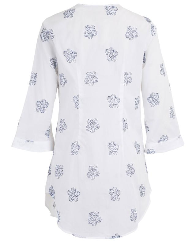 Embroidered cotton tunic CAMICETTASNOB