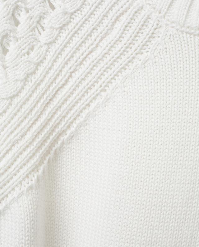 Short-sleeved cotton knit top BONGENIE GRIEDER