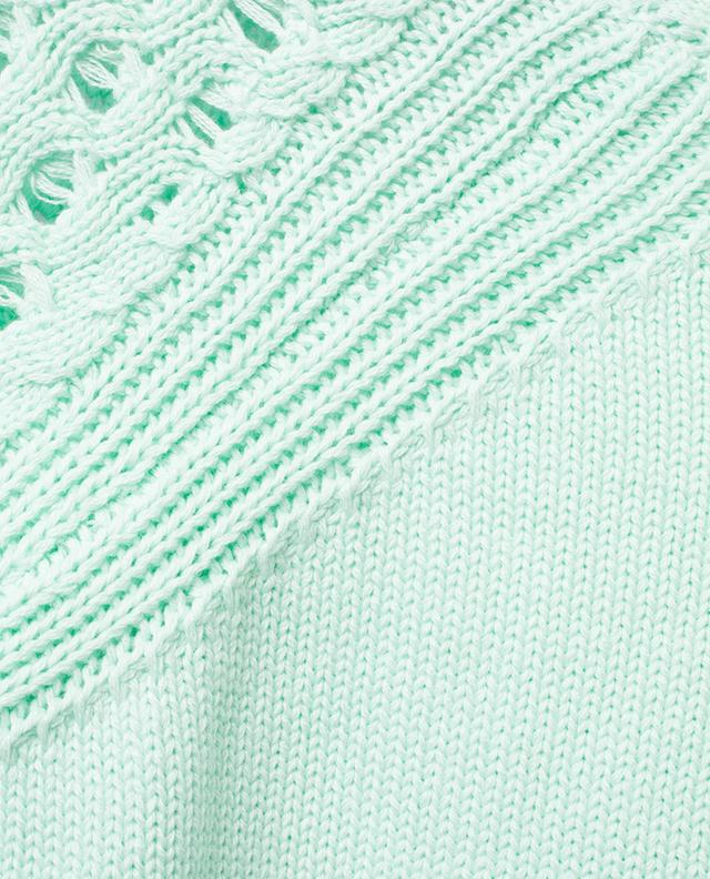 Top tricot en coton à manches courtes BONGENIE GRIEDER