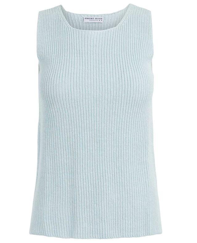 Top tricot sans manches en lin BONGENIE GRIEDER