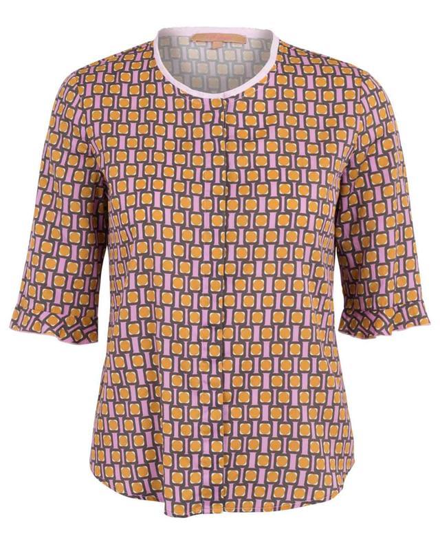 Printed cotton blouse LA CAMICIA
