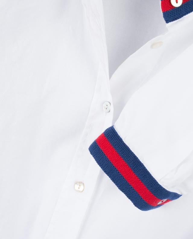 Shirt with stripe details LA CAMICIA