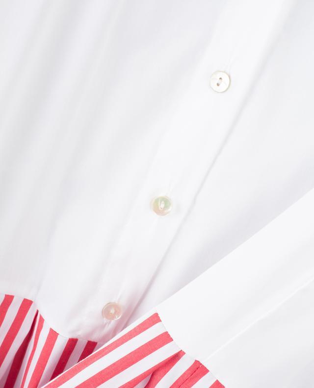Robe chemise effet trompe-l'oeil LA CAMICIA