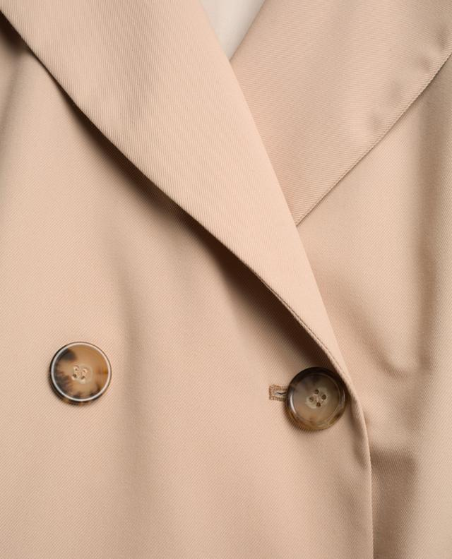Cotton blend trench coat CINZIA ROCCA