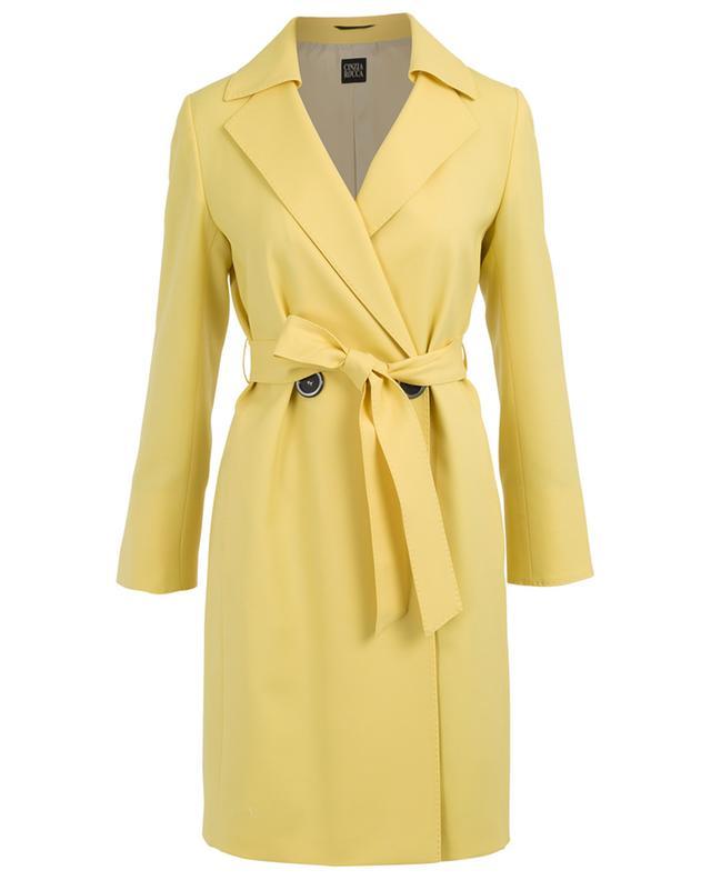 Light-weight virgin wool coat CINZIA ROCCA