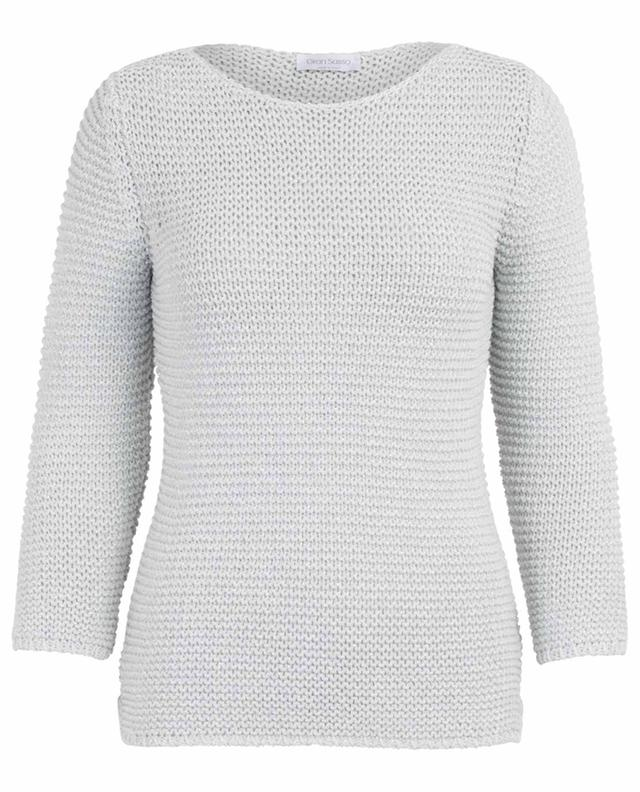 Cotton blend sparkling jumper GRAN SASSO