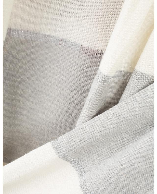 Cardigan ouvert en laine vierge, soie et lin GRAN SASSO