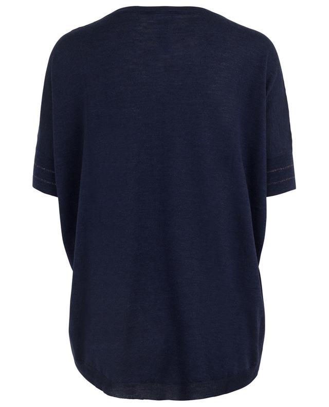 Virgin wool, silk and linen T-shirt GRAN SASSO