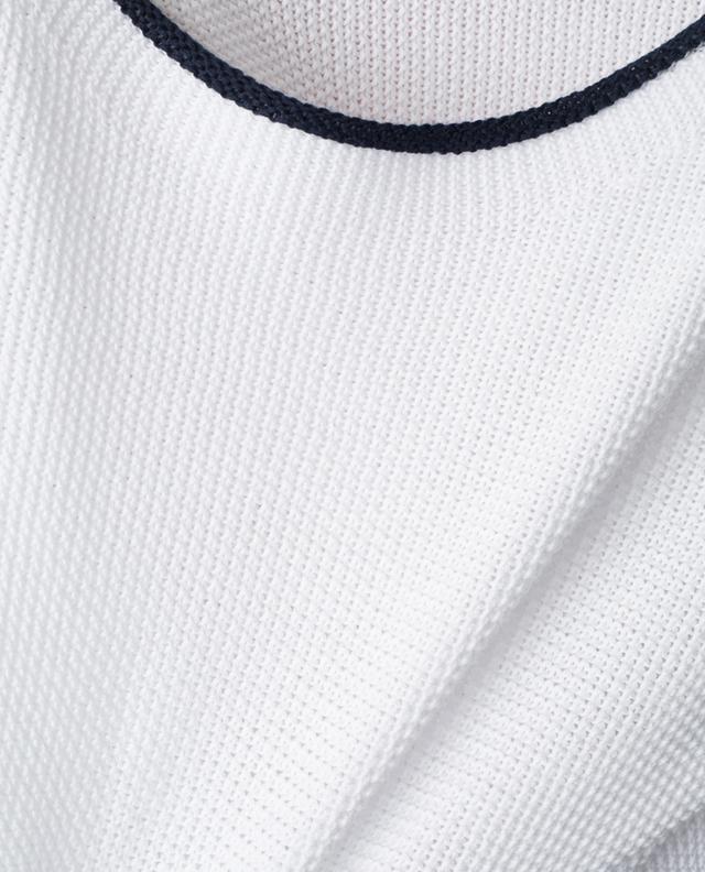 Pull tricot en coton GRAN SASSO