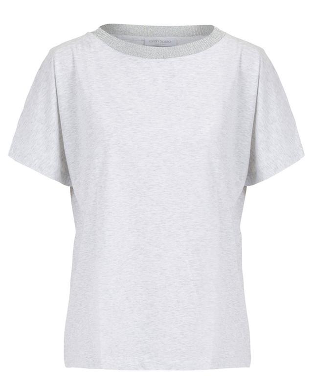 T-shirt en coton GRAN SASSO
