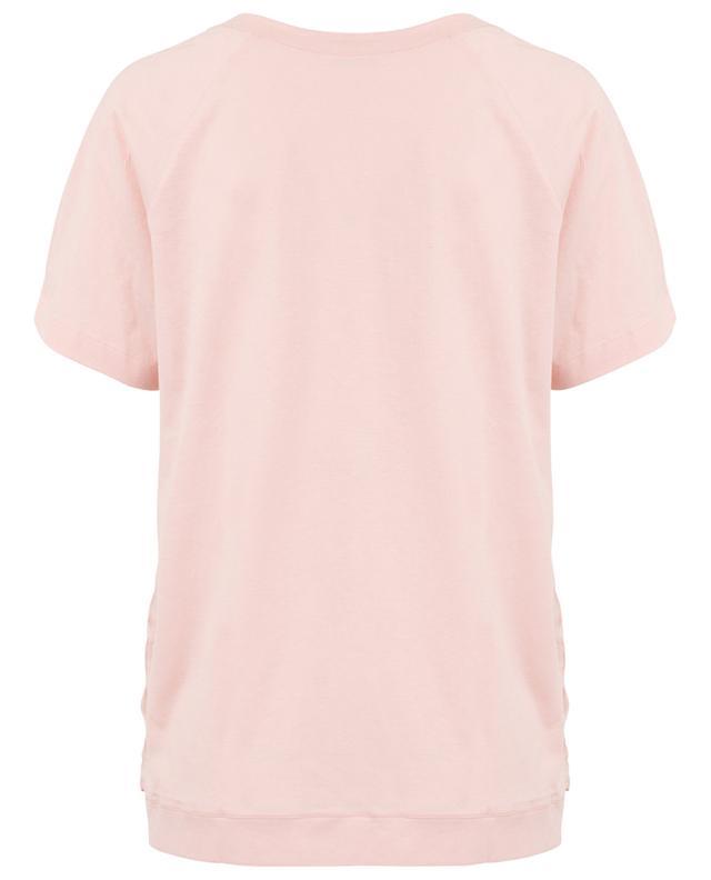 T-shirt en jersey et soie à pois GRAN SASSO