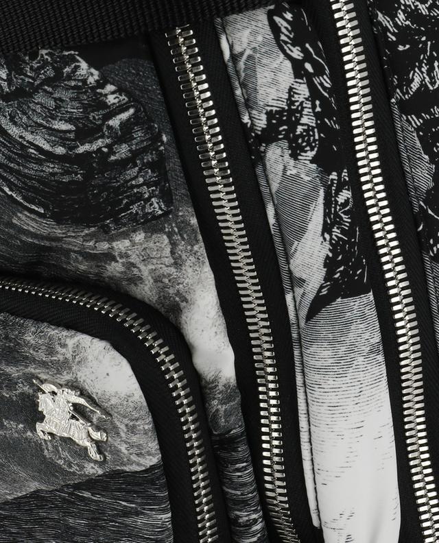 Sac à dos en nylon imprimé Rocco Dreamscape BURBERRY