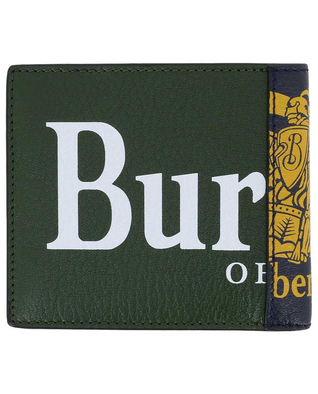 International Bifold grained leather wallet BURBERRY