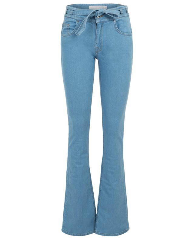 Flared high-rise jeans with star embroidery VICTORIA BECKHAM