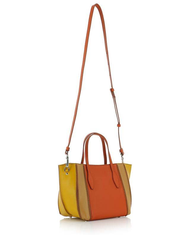 Leather mini tote bag TOD'S
