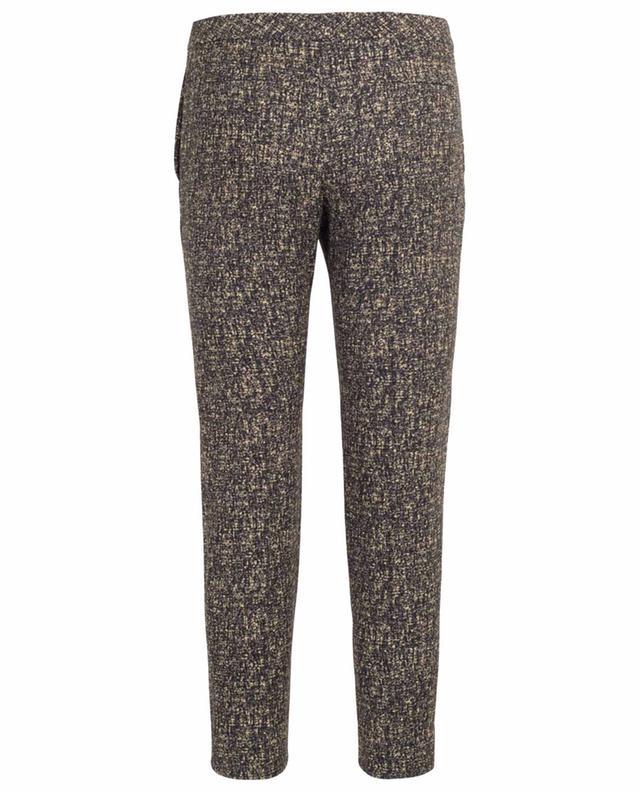 Printed cropped trousers CHLOE