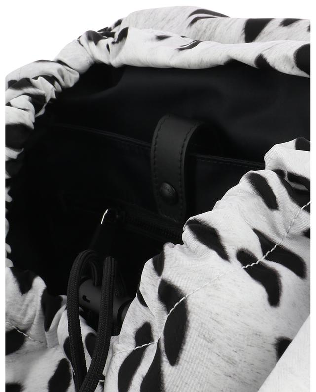 Sac à dos en nylon imprimé dalmatien Wilfin BURBERRY