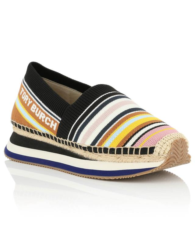 Baskets slip-on rayées Webbing Daisy TORY BURCH