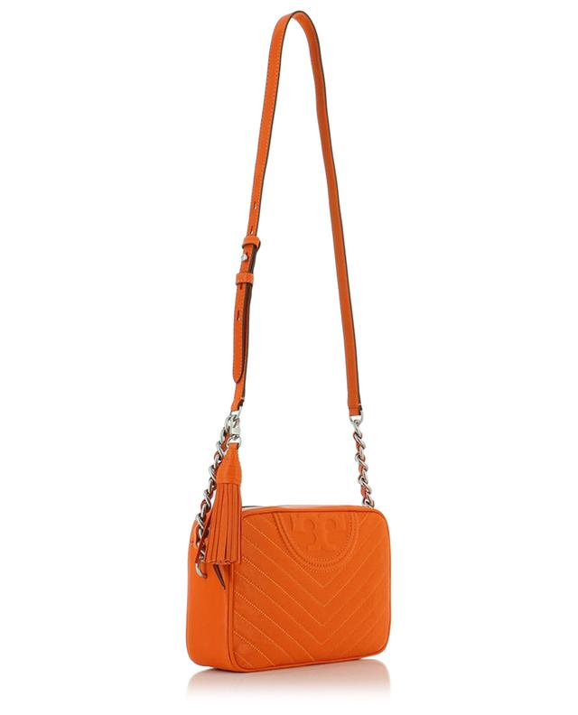 Sac en cuir matelassé Fleming Distressed Camera TORY BURCH