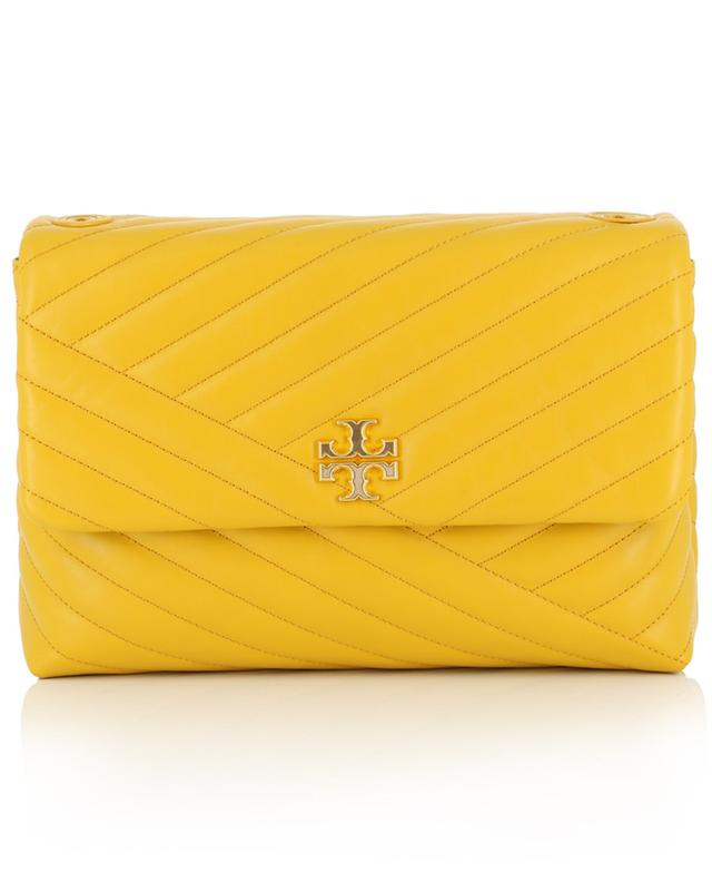 Kira quilted leather shoulder bag TORY BURCH