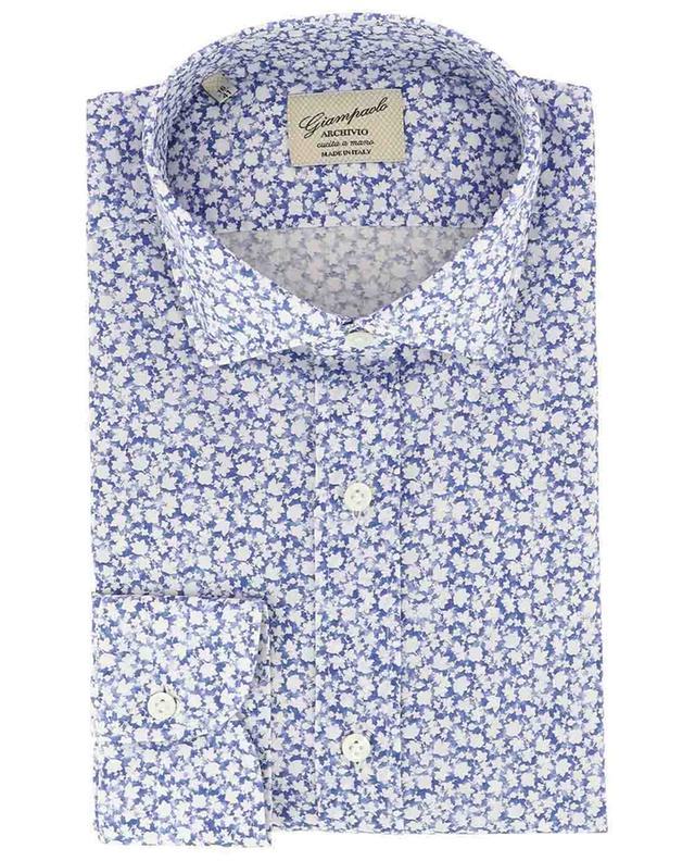 f527a1da5588 GIAMPAOLO Archivio foliage pattern shirt - Bongénie-Grieder