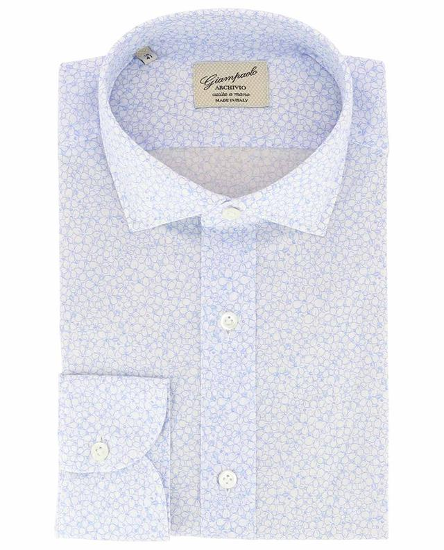 626d56cbad1c GIAMPAOLO Archivio floral cotton shirt - Bongénie-Grieder