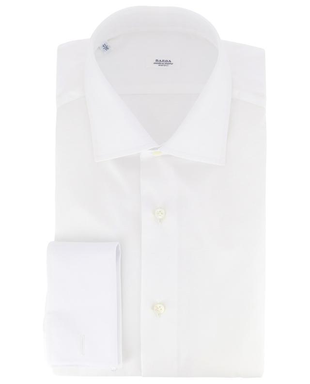 Double-cuff cotton shirt BARBA