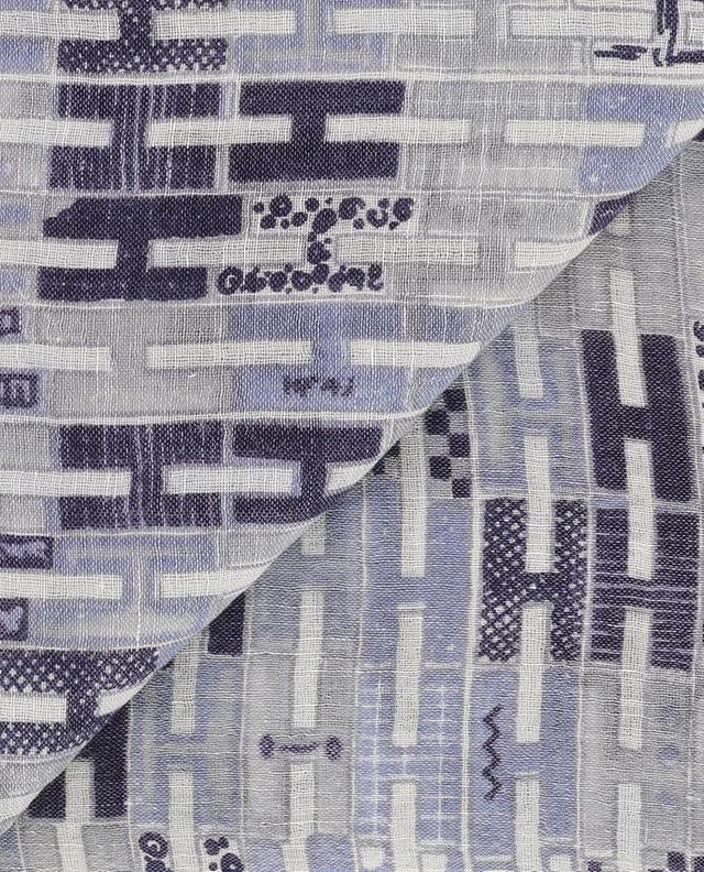 Raica monogrammed lightweight scarf HEMISPHERE