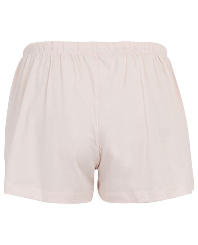 Olive jersey shorts SKIN